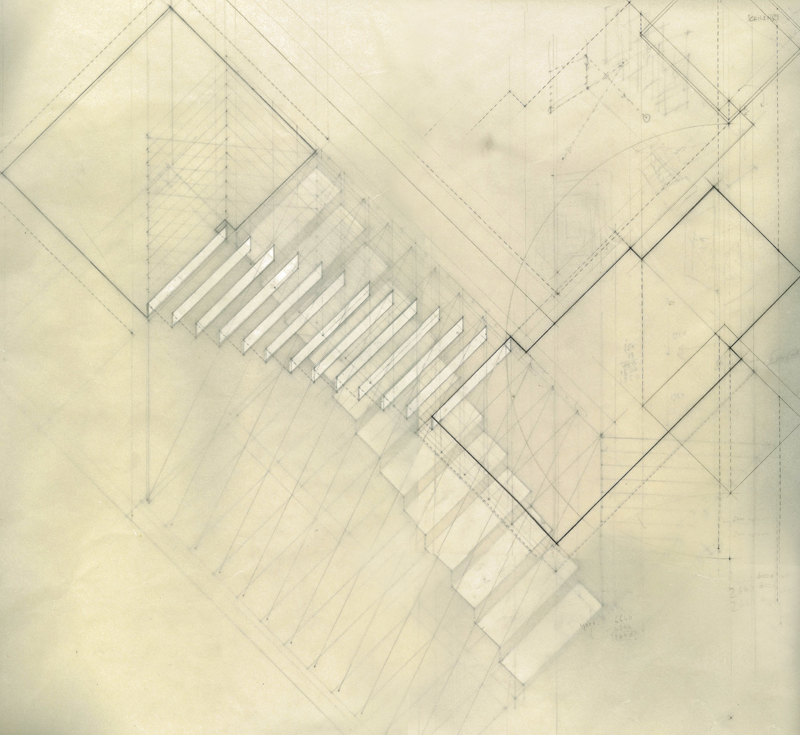 Site 144/404 – STAIRCASE (axonometric drawing)