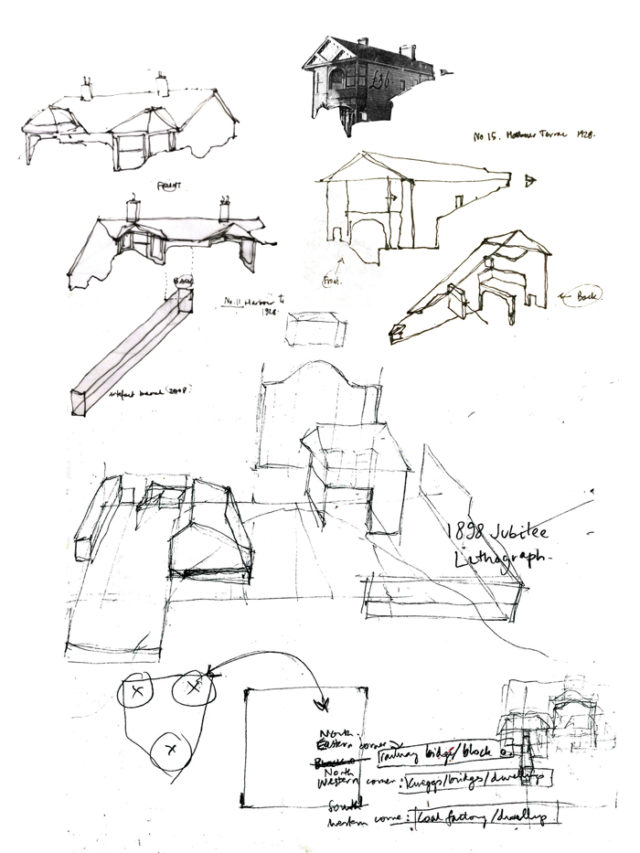 Site 144/404 – WINDOW (fragment sketches)