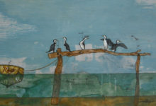 Shags in the Estuary