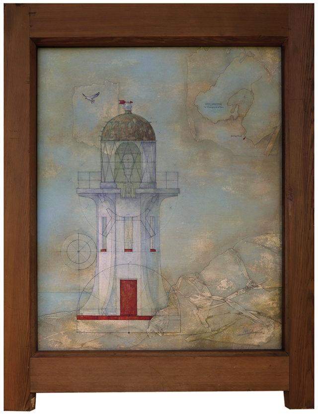 Baring Head Lighthouse (Wainuiomata Coast, NZ)